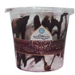 بستنی قیفی کافه بستنی دوپینگی قم